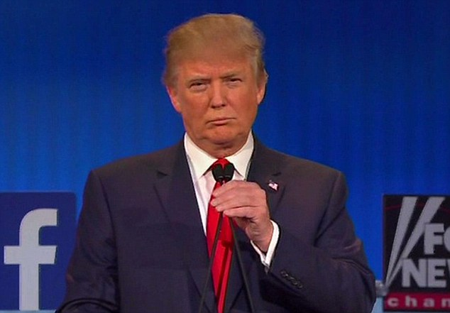 Donald Trump takes part in his first Presidential Candidate Debate - and gets booed by the audience