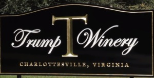 golf trump-winery-sign