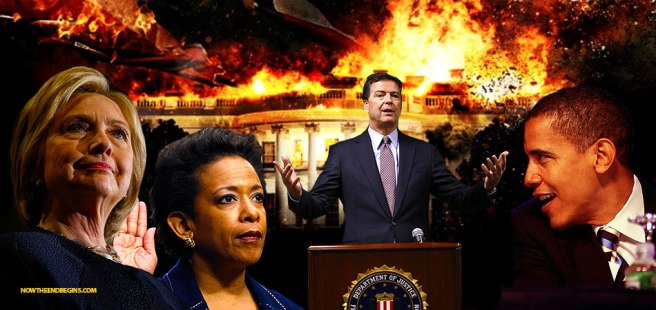 HILLARY crooked-hillary-james-comey-fbi-loretta-lynch-barack-obama-private-email-server-scandal-nteb