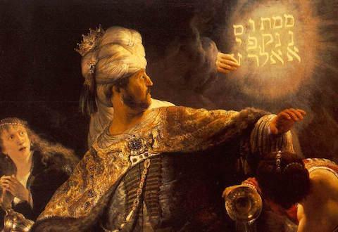 rnc Rembrandt_-_Belshazzars_Feast_-_WGA19123