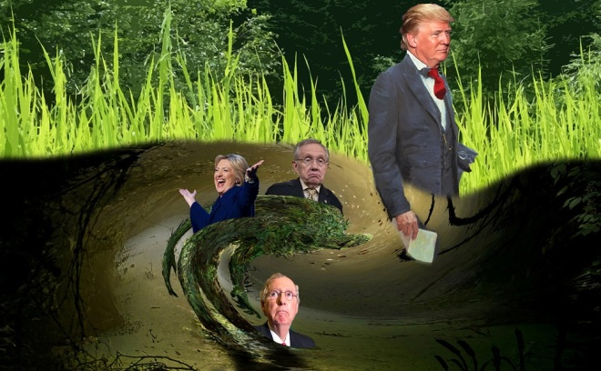 drain-the-swamp-s-donald-trump-really-draining-the-swamp-or-dipping-his-toe-in-2016-images