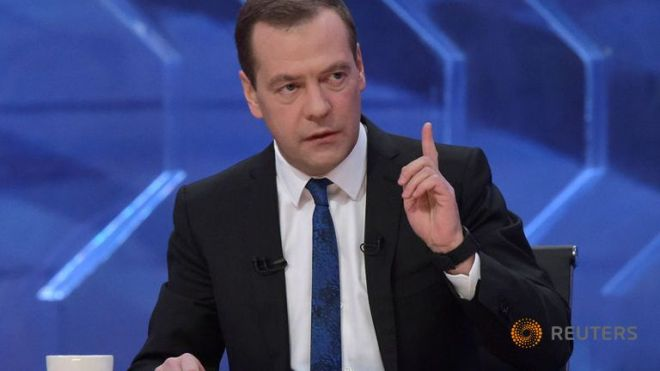 russia-s-pm-medvedev-gives-an-interview-to-russian-tv-channels