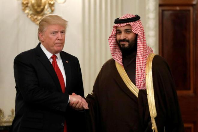 SAUD donald-trump-mohammed-bin-salman