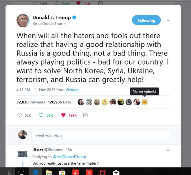 tweet on russia copy