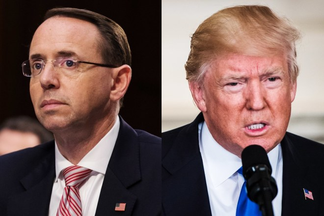rod-rosenstein-vs-donald-trump