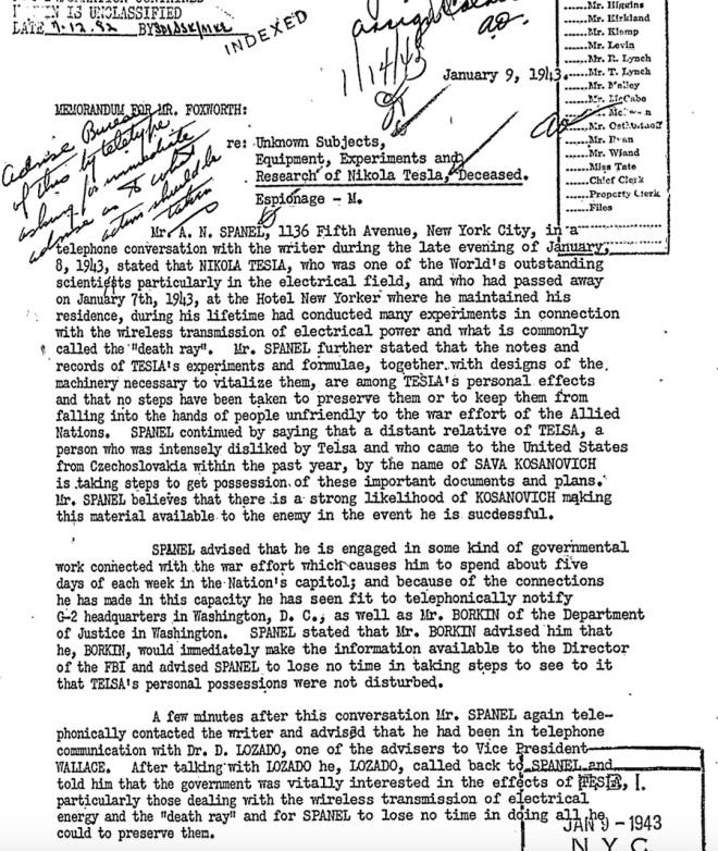 tesla FBI-Tesla