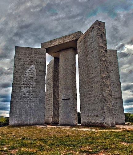 georgia guidestones 9e8fe37e42163b2f15dd3fcd1a2007ab