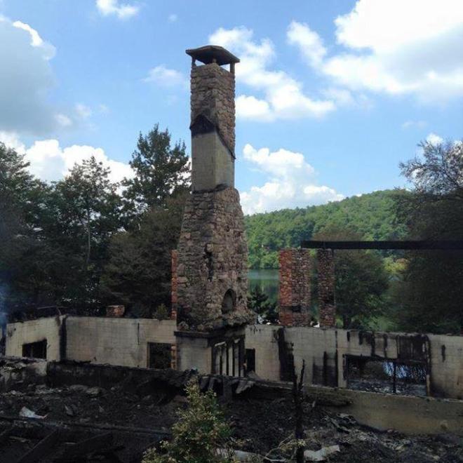 cali home burned