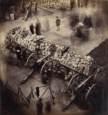 marx Barricade_Paris_1871_by_Pierre-Ambrose_Richebourg