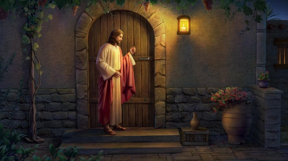 """The True Meaning of """"Jesus Knocking on the Door""""   by Mary   Medium"""