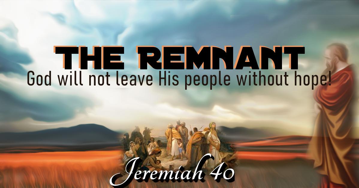Whitestone Christian Fellowship: The Remnant Of Judah