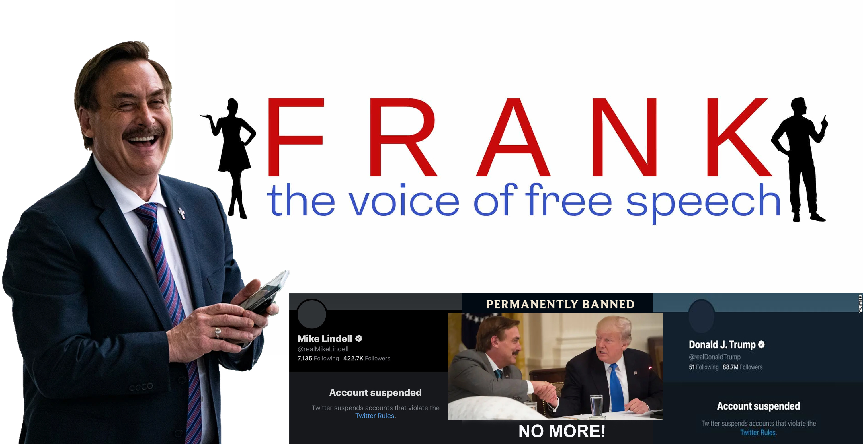 MIKE LINDELL ANNOUNCES HIS NEW SOCIAL MEDIA WEBSITE – FRANK! – THE MARSHALL  REPORT